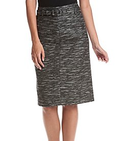 Nine West® High Waist Skirt