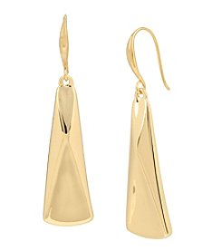 Robert Lee Morris Soho™ Goldtone Geometric Large Drop Earrings