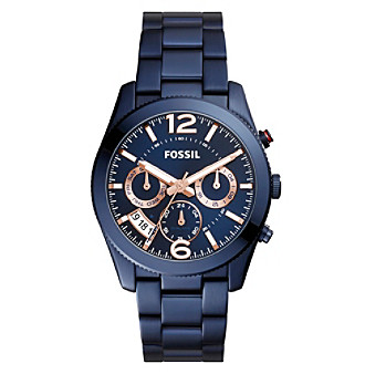 Fossil® Women's Perfect Boyfriend Watch With Link Bracel
