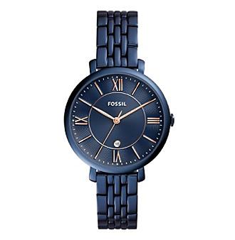 Fossil® Women's Jacqueline Watch With Five-Link Bracelet