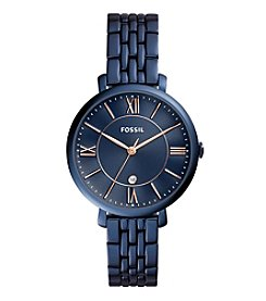 Fossil® Women's Jacqueline Watch With Five-Link Bracelet