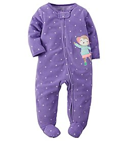 Carter's® Baby Girls' Figure Skating Monkey Footie