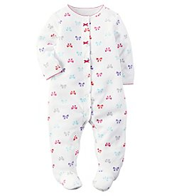 Carter's® Baby Girls' All Over Bows Footie