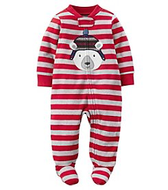 Carter's® Baby Boys' Polar Bear Striped Footie