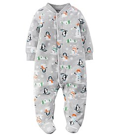 Carter's® Baby Boys Penguin & Snowman Footie