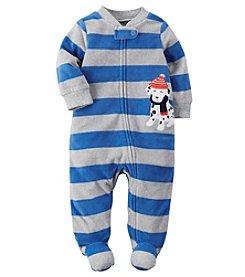Carter's® Baby Boys Dalmatian Striped Footie