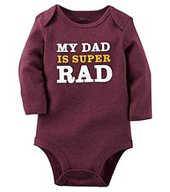 Carter's® Baby Boys Dad Is Super Rad Bodysuit