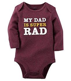 Carter's® Baby Boys Dad Is Super Rad Bodysuit