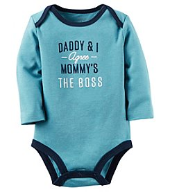 Carter's® Baby Boys Daddy & I Agree Bodysuit