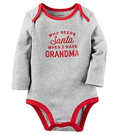 Carter's® Baby Who Needs Santa Bodysuit