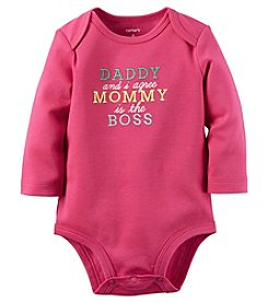 Carter's® Baby Girls' Daddy & I Agree Bodysuit