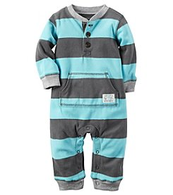 Carter's® Baby Boys Striped Jumpsuit