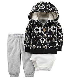 Carter's® Baby Boys 3-Piece Geo Hoodie Set