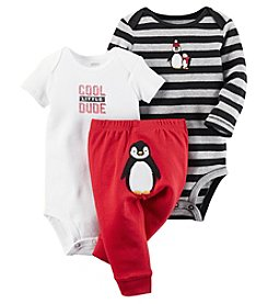 Carter's® Baby Boys' 3-Piece Cool Little Dude Bodysuit Set