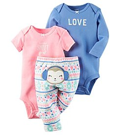 Carter's® Baby Girls' 3-Piece Mommy's Sweet Girl Bodysuit Set