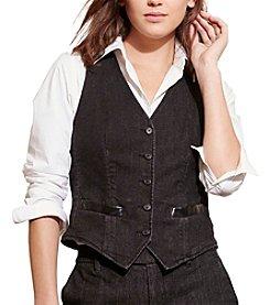 Lauren Ralph Lauren® Stretch Denim Vest
