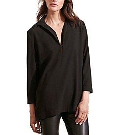 Lauren Ralph Lauren® Crepe Split-Neck Tunic