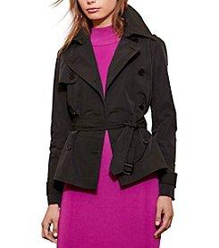 Lauren Ralph Lauren® Peplum Trench Coat