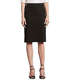 Lauren Ralph Lauren® Cotton Twill Pencil Skirt