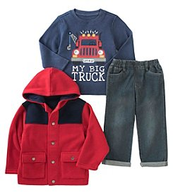Kids Headquarters® Baby Boys' 3-Piece My Big Truck Jacket Set