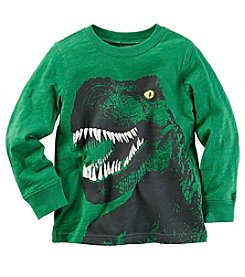 Carter's® Baby Boys Long Sleeve T-Rex Tee