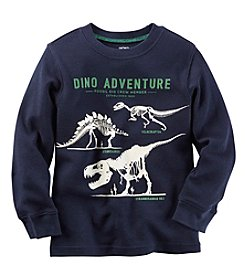 Carter's® Baby Boys Long Sleeve Dino Adventure Tee