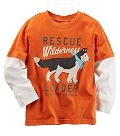 Carter's® Baby Boys Long Sleeve Layered Rescue Wilderness Tee