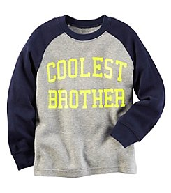 Carter's® Baby Boys Long Sleeve Coolest Brother Tee