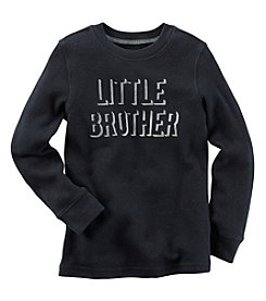 Carter's® Baby Boys Long Sleeve Little Brother Tee