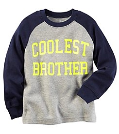 Carter's® Boys' 2T-4T Long Sleeve Coolest Brother Tee