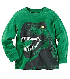 Carter's® Boys' 2T-8 Long Sleeve T-Rex Tee