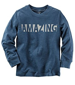 Carter's® Boys' 2T-8 Long Sleeve Amazing Tee