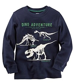 Carter's® Boys' 2T-8 Long Sleeve Dino Adventure Tee