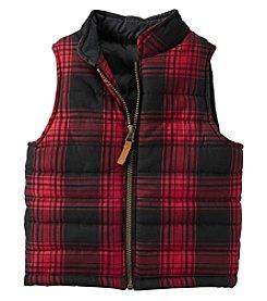 Carter's® Boys' 2T-8 Plaid Flannel Vest