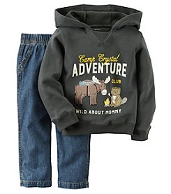 Carter's® Boys' 2T-4T 2-Piece Adventure Hoodie and Jeans Set