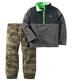 Carter's® Boys' 2T-4T 2-Piece Fleece and Joggers Set