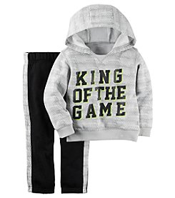 Carter's® Boys' 2T-4T 2-Piece King Of The Game Hoodie And Joggers Set