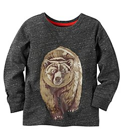 Carter's® Boys' 2T-8 Long Sleeve Bear Tee