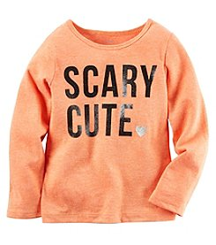 Carter's® Girls' 2T-8 Long Sleeve Scary Cute Tee