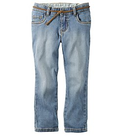 Carter's® Girls' 2T-8 Rolled Capri Pants