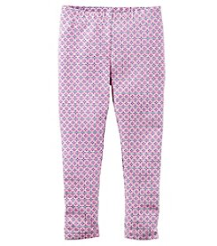Carter's® Girls' 2T-8 Geo Leggings