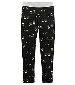Carter's® Girls' 2T-8 Cat Eyes Leggings