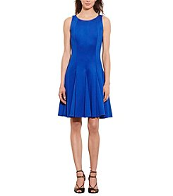 Lauren Ralph Lauren® Fit-And-Flare Neoprene Dress