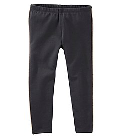 OshKosh B'Gosh® Girls' 2T-6X Glitter Tuxedo Striped Leggings