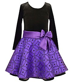 Bonnie Jean® Girls' 7-16 Long Sleeve Embellished Skirt Dress