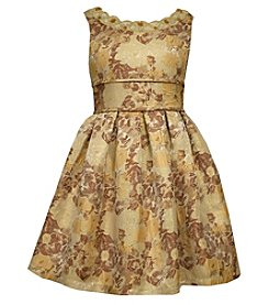 Bonnie Jean® Girls' 7-16 Jacquard Fit And Flare Dress