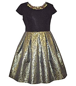 Bonnie Jean® Girls' 7-16 Jacquard Skirt Dress