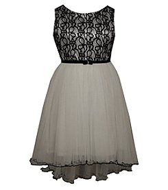 Bonnie Jean® Girls' 7-16 Lace Bodice High-Low Dress