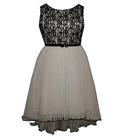 Bonnie Jean® Girls' 7-16 Lace Bodice High-Low Dress