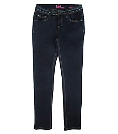 Lee® Girls' 7-16 Sequin Embellished Skinny Jeans